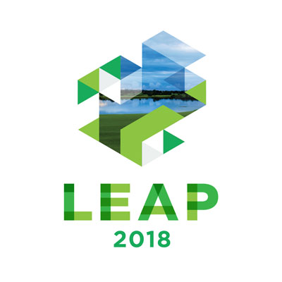 LEAP 2018 Conference and awards logo